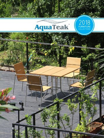 AquaTeak Outdoor Catalog 2018