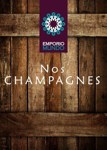 Catálogo Champagnes