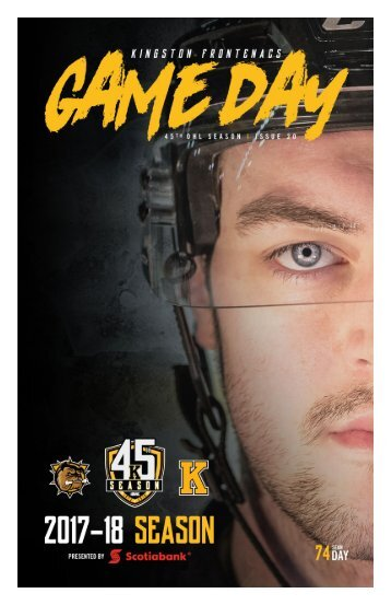Kingston Frontenacs GameDay January 19, 2018
