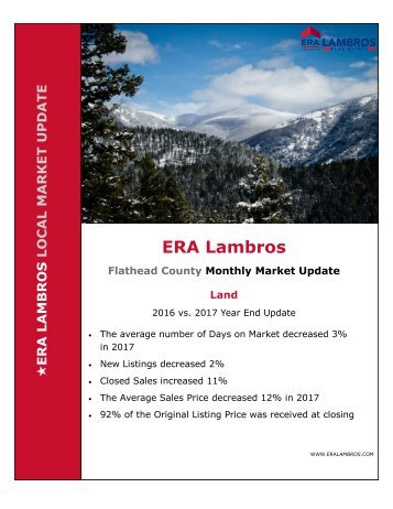 EOY Flathead Land Update 2017