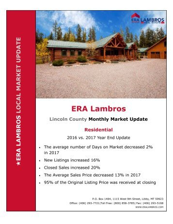 EOY Lincoln Residential Update 2017