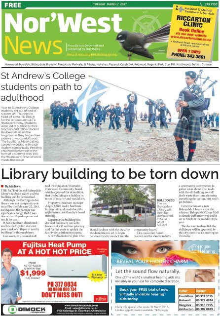 Nor'West News: March 07, 2017