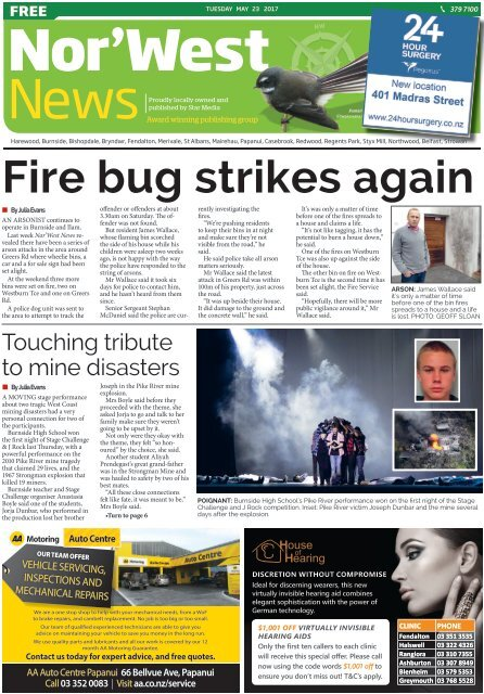 Nor'West News: May 23, 2017