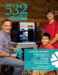 Sandia Prep 532 Magazine - Winter 2018