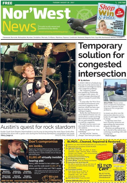 Nor'West News: August 29, 2017