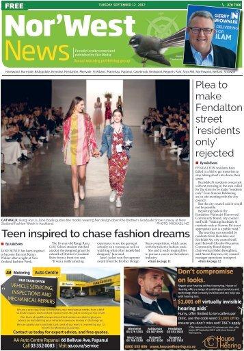 Nor'West News: September 12, 2017