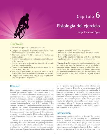 Fisiología del ejercicio - McGraw-Hill Higher Education