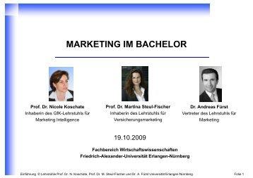 091012 _Einfuehrungs.. - Prof. Dr. Martina Steul-Fischer - Friedrich ...