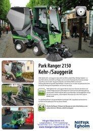 Park Ranger 2150 Kehr-/Sauggerät - Hörger Maschinen eK