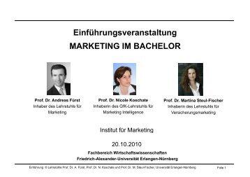 Einfuehrungsveransta.. - Prof. Dr. Martina Steul-Fischer ...