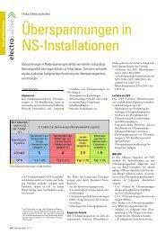 Überspannungen in NS-Installationen Teil 1 - Technik Forum