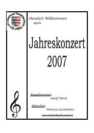 Programm 1. Fanfare for a Celebration C. Michiels 2 ...
