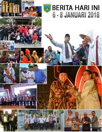 e-Kliping 6 - 8  Januari 2018