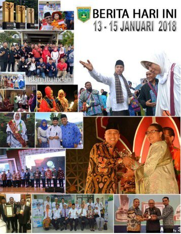 e-Kliping 13 - 15 Januari 2018