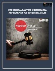 Criminal Lawyers in Brampton-Done