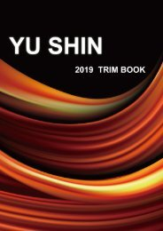 YU SHIN 2019 TRIM BOOK
