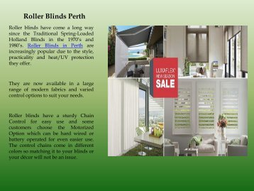 Best Roller Blinds Perth