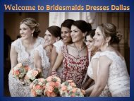 Bridesmaids Dresses Dallas