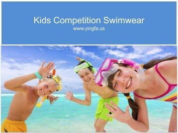 Kids Fitting  Competition Swimwear