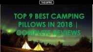 Top 9 Best Camping Pillows