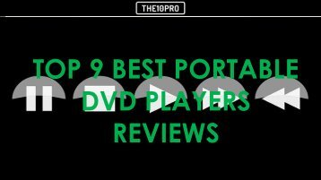 Top 9 Best Portable DVD Players Reviews