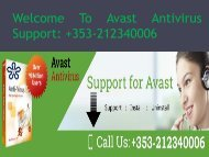 Get  Call Avast Support Phone Number Ireland +353-212340006