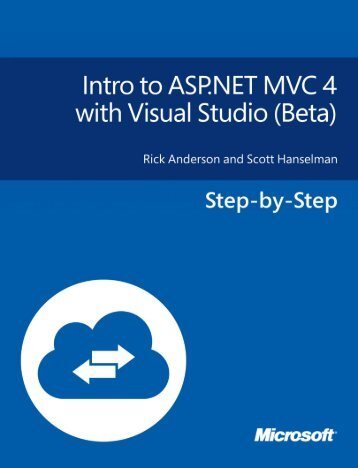 Intro to ASP.NET MVC 4 with Visual Studio - Beta