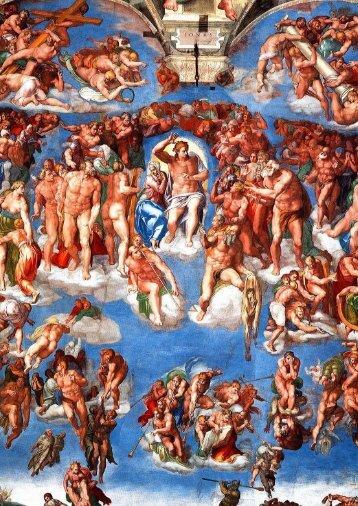 Giovanni nel Giudizio Universale di Michelangelo