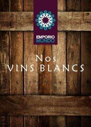 Catálogo Vins Blancs