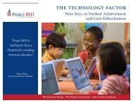 The Technology Factor: Nine Keys to Student Achievement and Cost ...