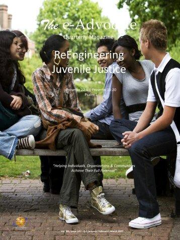 ReEngineering Juvenile Justice
