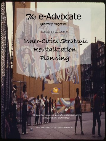 Inner-Cities Strategic Revitalization Planning