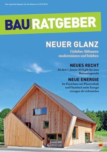 Bauherrenratgeber 2017