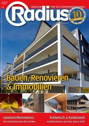 Radius Bauen 2011