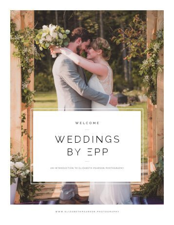 EPP Wedding Welcome Packet