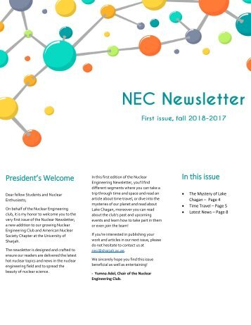 NEC Newsletter First Draft