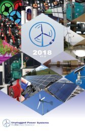 Unplugged Power Systems Catalog - 2018