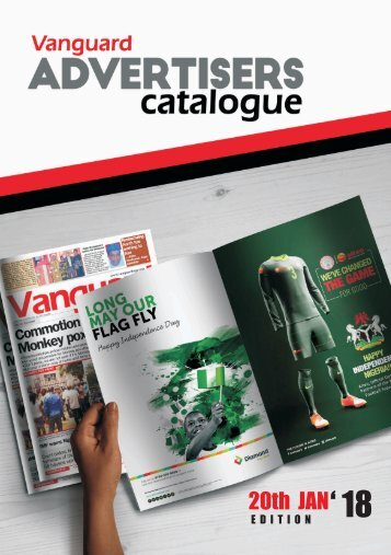 ad catalogue - 20 January 2018