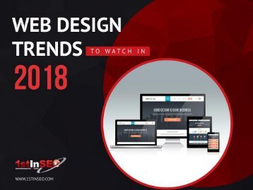 Albuquerque Web Design Trends to Watch in 2018