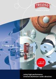 High-value sintered aluminium oxide abrasives - THELEICO ...