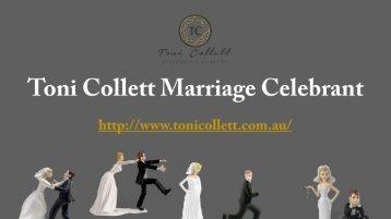 Sunshine Coast Celebrant   Toni Collett Marriage Celebrant