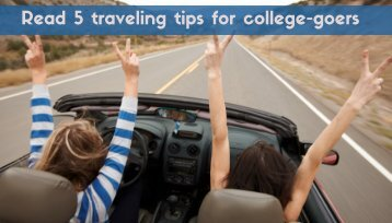 Traveling Tips for Students You've Never Heard Before
