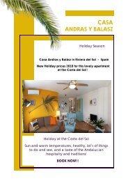 Casa Andras y Balász Holiday rental Costa del Sol