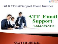 1-844-355-5111 AT & T Email Support Phone Number