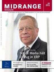 Social Media hält Einzug in ERP - Midrange Magazin