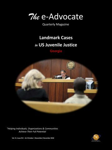Landmark Cases in US Juvenile Justice (Georgia)