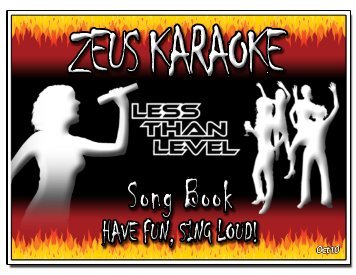 Zeus Karaoke Song List - 091109 - updated Oct 2010.xlsx