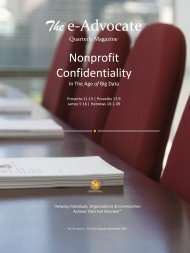 Nonprofit Confidentiality In The Age of Big Data