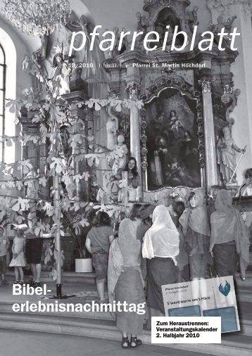 Gute Reise und schöne Ferien! - Pfarrei Hochdorf