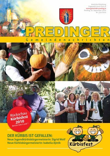 Gemeindenachrichten Nr. 354 - Preding